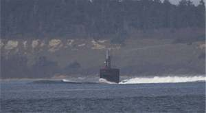 A recent photo of the U.S. Navy submarine, the U.S.S. San Francisco (Photo: RLW)