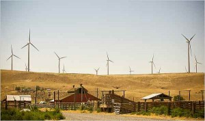 Ione, Oregon wind farm; Leah Nash for the New York Times