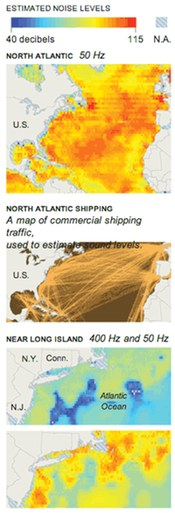 NOAA noise maps