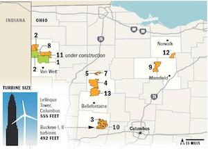 Wind Farms In Oklahoma Map.Aeinews Org Wind Turbines