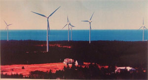 Novia Scotia windfarm